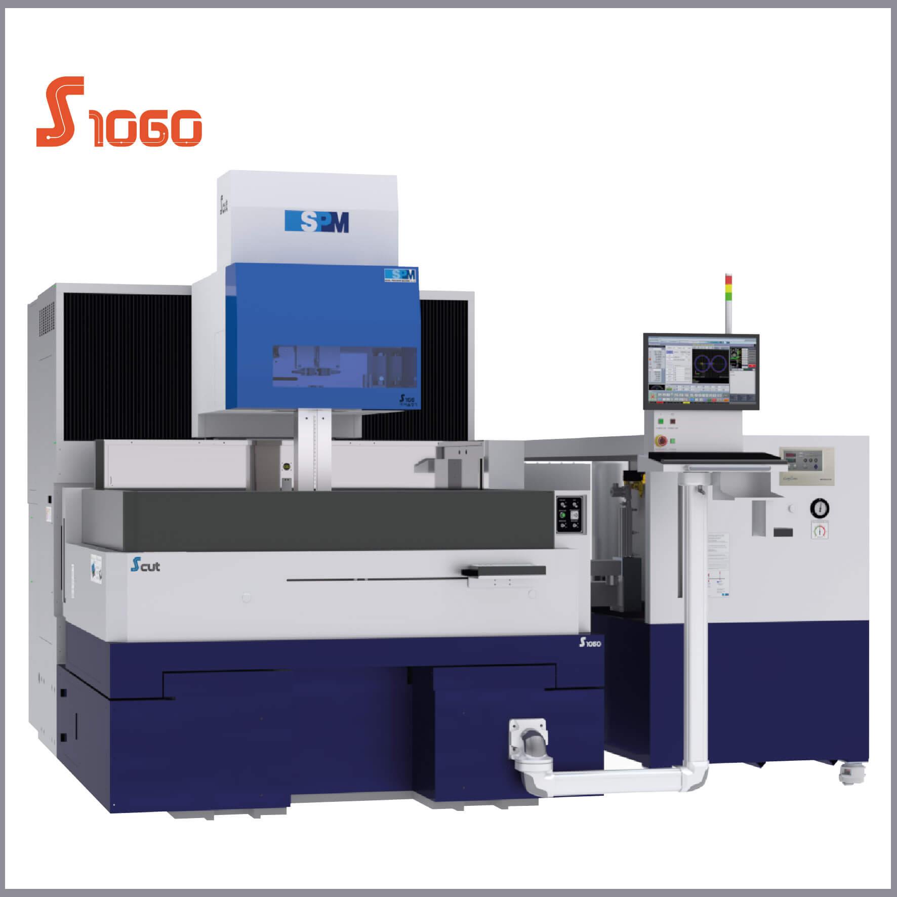 SPM S1060 Tel Erozyon Tezgahı