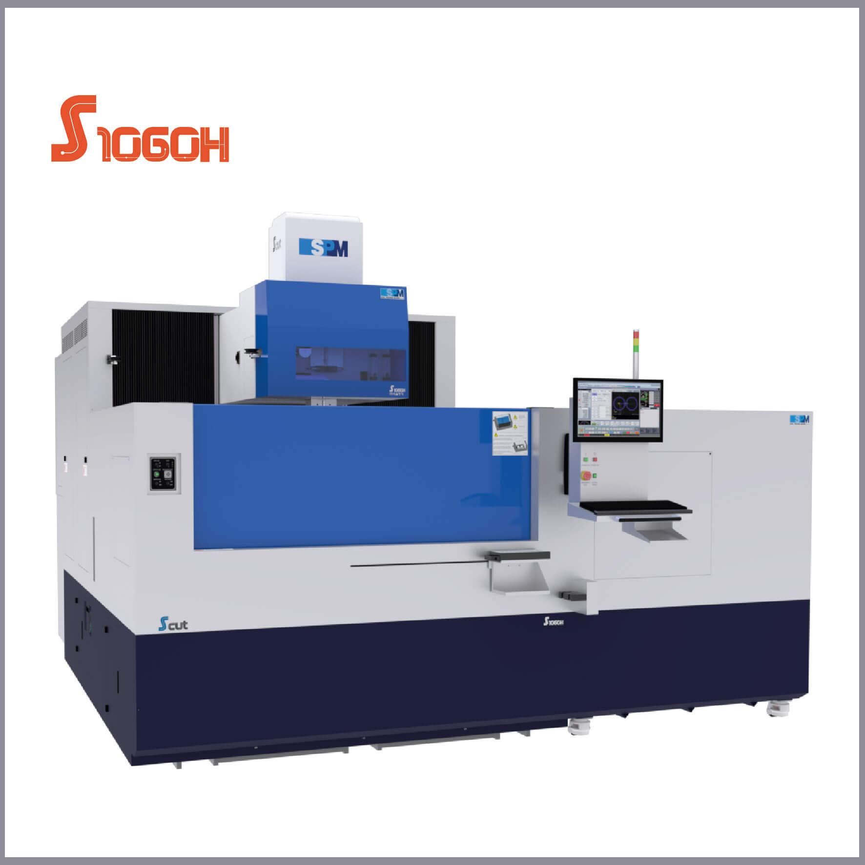 SPM S1060H Tel Erozyon Tezgahı