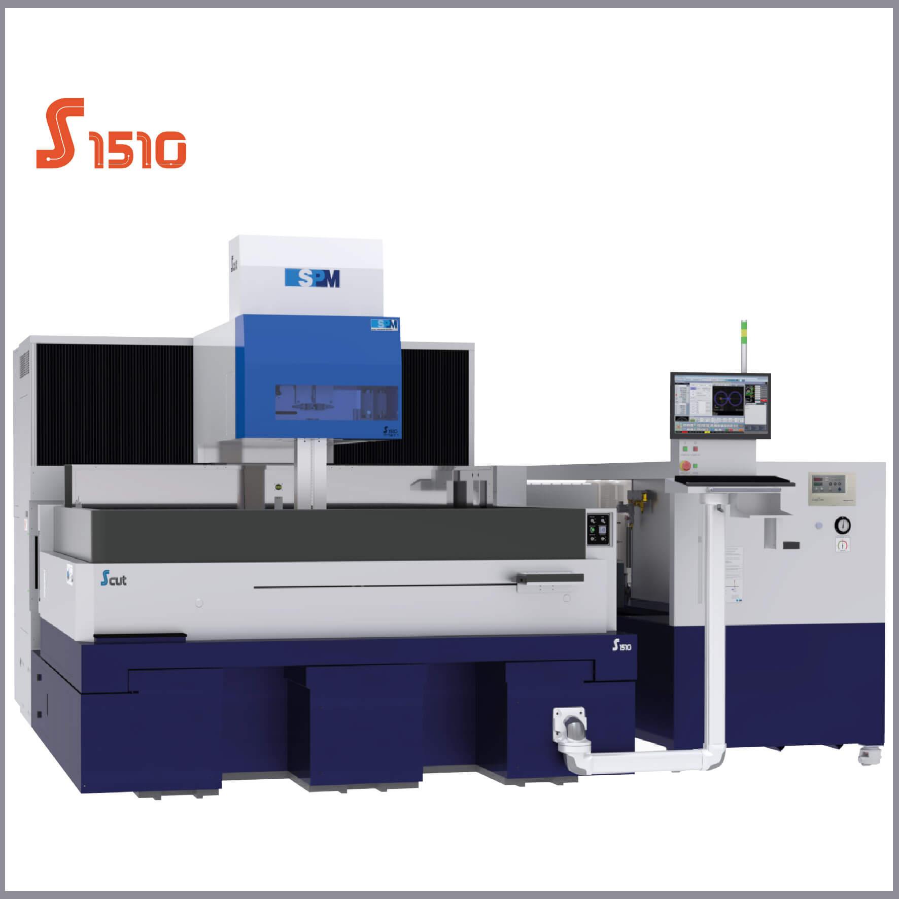 SPM S1510 Tel Erozyon Tezgahı